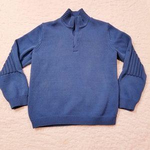 Men's Express Knit Quarter Zip Pull Over Sweater